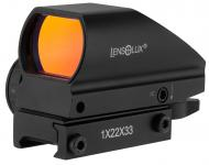 Lensolux red dot 1 x 22 x 33 multi-reticle