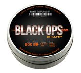 Box of 500 Black Ops Sharp sockets with pointed head cal. 4.5 mm