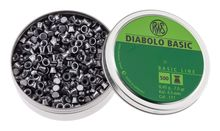 Box of 500 pellets diabolos basic dishes cal. 4.5 mm