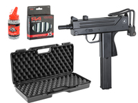 Pack Cobray Ingram M11 Co2 4. 5 mm with case, Co2 and balls 4,5 - ASG