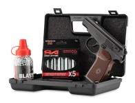 Pack Borner PM-X 4,5mm bbs 3,0J + mallette + billes 4,5 + Co2