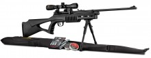 Pack QB78S CO2 9 shots - 9.9 J. + scope + bipod + pellets + gun bag