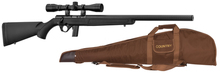 Pack rifle Mossberg silence synthetic cal. 22 LR