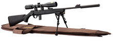 Photo Pack carabine Mossberg Sniper synthétique cal. 22 LR