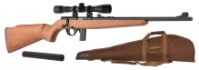 Pack Rifle Mossberg Plinkster wood 22 LR