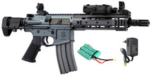 Pack Replica AEG BO Raid K VFC urban gray + battery PEQ + battery charger