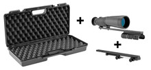 Pack bezel hut 1/2 twin 9 x 63 RTI + anti-recoil support + briefcasePack bezel hut 1/2 twin 9 x 63 RTI + anti-recoil support + briefcase