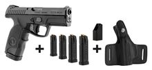 Steyr Mannlicher M9-A1 semi-auto pistol pack + 4 chargers + charge + holster