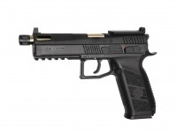 Airsoft GBB CZ P-09 Optic Ready Gold Co2 1J