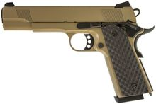 Photo Réplique GBB 1911 MEU Raven full metal gaz tan 1,0J