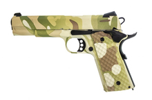 Photo Réplique GBB 1911 MEU Raven full metal gaz Hydro full Camo 1,0J