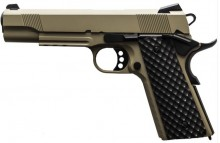 Réplique GBB 1911 MEU Rail Raven full metal gaz Tan 1,0J