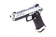 GBB Gas Hi-Capa 4.3 Black / Chrome 0,9J