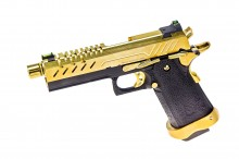 GBB Gas Hi-Capa 4.3 Black / Gold 0,9J