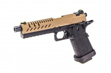 GBB Gas Hi-Capa 5.1 Black / Tan 1,0J