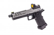 GBB Gas Hi-Capa 5.1 Black / Grey 1,0J + BDS red-dot