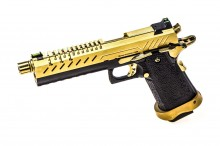 GBB Gas Hi-Capa 5.1 Black / Gold 1,0J