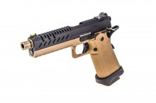 GBB Gas Hi-Capa 5.1 Tan / Black 1,0J