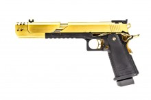Réplique GBB gaz Hi-Capa Dragon 7.1 Gold 1,0J