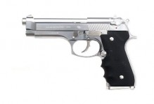 Réplique GBB M92F Chrome Stainless 0,8J