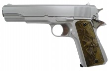 GNB Gas 1911 0,5J Silver & wood