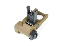 Flip front type sight KAC PDW tan - VFC