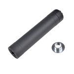 Photo Silencieux Crusader TR45S Suppressor noir 14 et 16mm - VFC