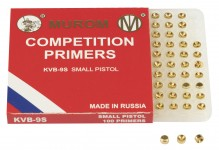 MUROM Primers SMALL PISTOL Competition box x 100