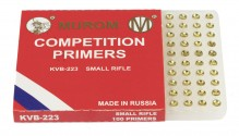 MUROM PRIMERS SMALL RIFLE BTE x 100