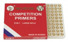 MUROM PRIMERS LARGE RIFLE BTE x 100