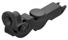 Creedmoor eyecup for rifle lever in custody