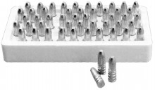 Set of 50 conical bullets for shotgun