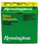 Cartouches Remington Nitro Magnum longue distance - Cal. 12/76