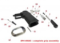 Original spare parts for HX serie complete grip assembly