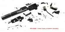 Original spare parts for HX serie lower frame & hammer assembly