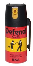 Photo Aérosols de défense - Defenol gaz CS - 40 / 50 /100 ml