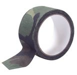 Adhesive camouflage fabric tape
