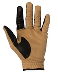 Photo Clay Beige Mesh Shooting Gloves