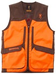 Photo Gilet Browning Upland Hunter HI-VIS ambidextre marron/orange