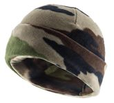 Camo beanie lined with thinsulate