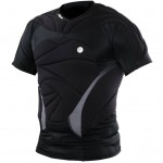 Dye Jersey Performance Top Black
