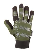 Photo Gants Swap design olive