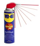 WD40 spray with pro head 2 jets
