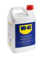 WD40 in a 5 liter can and an empty sprayer