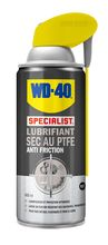 WD40 in dry lubricant spray with PTFE