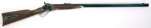 Photo Rifle Sharps 1874 Down Under heavy gun 34 '' cal. .45 / 70