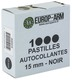 Photo A52415-Pastilles autocollantes noires 15 et 19 mm
