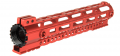 Photo A68663-1 Garde main M-LOK free floating 10,5' rouge
