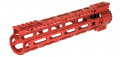 Photo A68663 Garde main M-LOK free floating 10,5' rouge