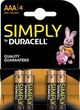 Photo LC414D-1-PILE ALCALINE LR03 AAA DURACELL